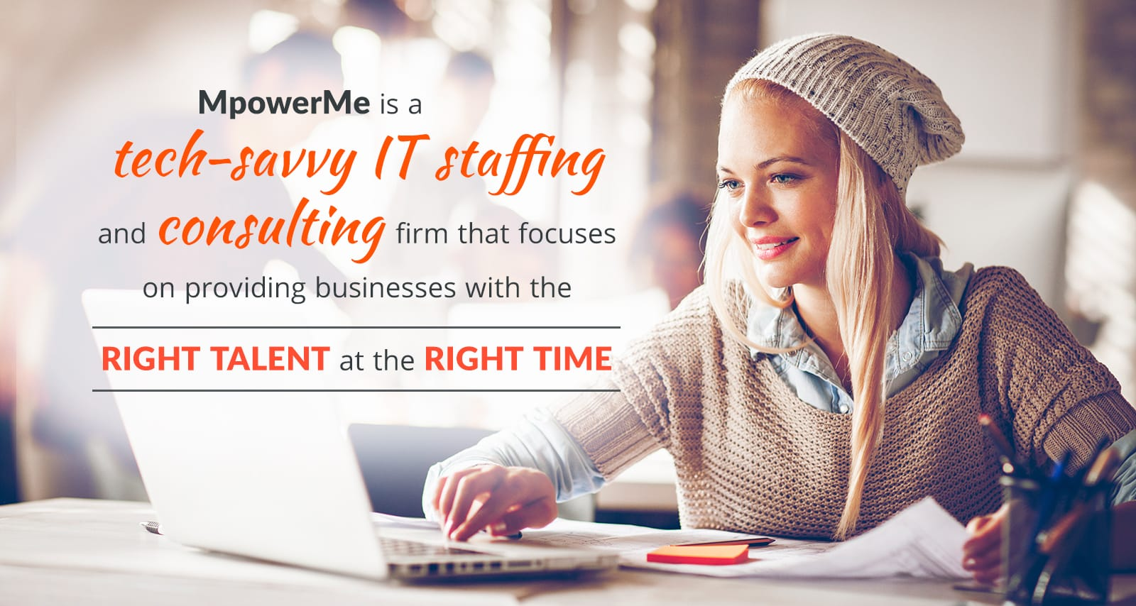 MpowerMe is a tech-savvy IT recruiting and staffing agency